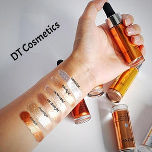 DT Collection Liquid Highlighter Base Primer Contour Cream Concealer. Choose your color to brighten and whiten for long-lasting oil-control. Love when you look beautiful ladies!