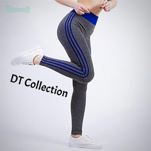 DT Collection High Waist Sports Leggings Fitness Yoga. Enjoy the comfort as these tights stretch to fit firmly with your every move. A wide range of colors and 4 sizes to choose.