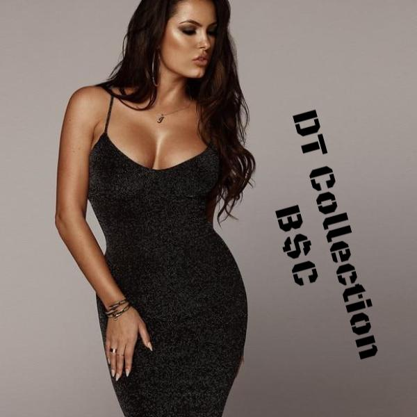 #brieElegance Spaghetti Strap Cocktail Dress B$C | DT Collection