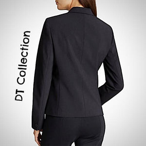 DT Collection Women's Business Suit 2 Pcs Set Blazer With Pants. Plus sizes available too ladies. We'll custom make as well. Just msg us and we'll get it done!