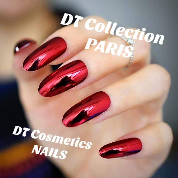 Pre-Designed Nails Press On Long French   DT Collection