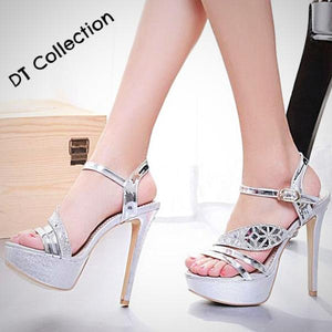 DT Collection Sexy Open Toe High Stilettos Heels
