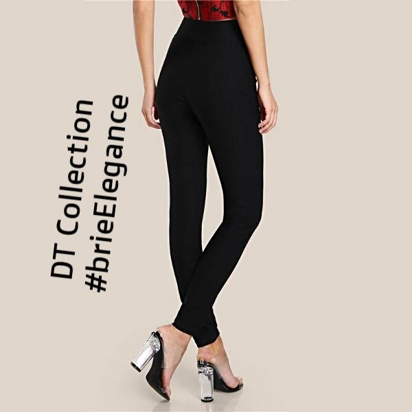 #brieElegance High Waist Stretchy Pencil Pants | DT Collection
