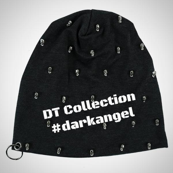 DARK LOVE Unisex Beanies Skull Knitted #darkangel | DT Collection