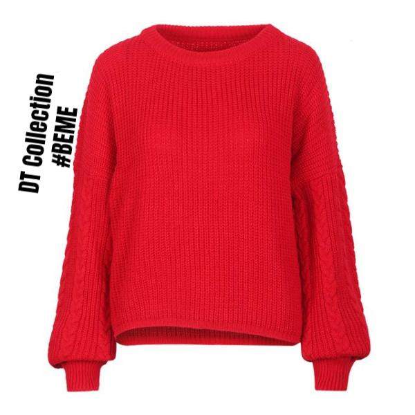 #BEME Sweater Knitted Long Sleeve PARIS | DT Collection