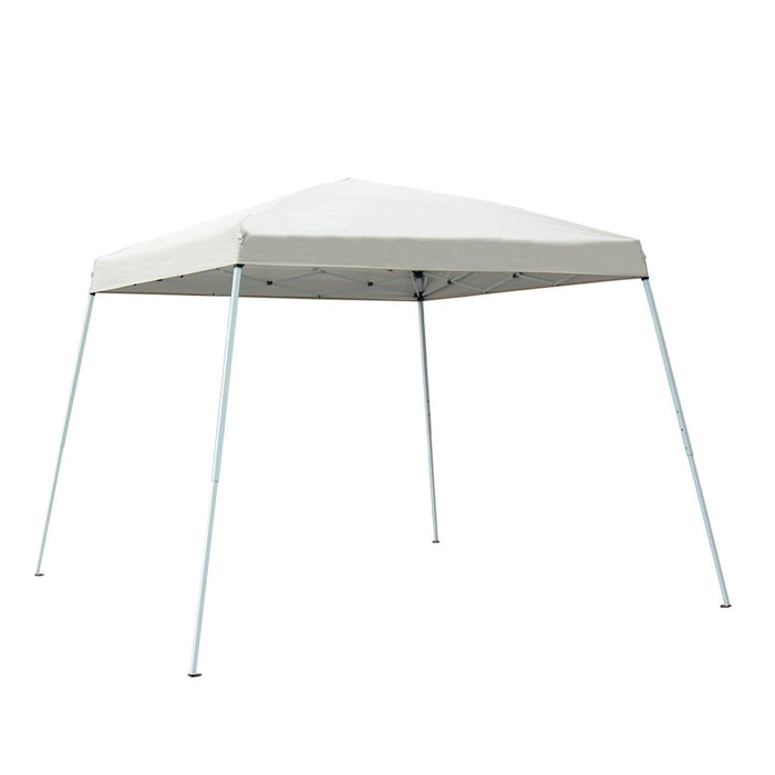 Baner Garden CH-A23BEIGE Easy Folding Instant Pop-up Foldable Canopy Gazebo, beige-Long Mountains