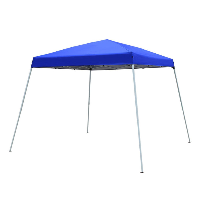 Baner Garden CH-A23BLUE Easy Folding Instant Pop-up Foldable Canopy Gazebo, blue-Long Mountains