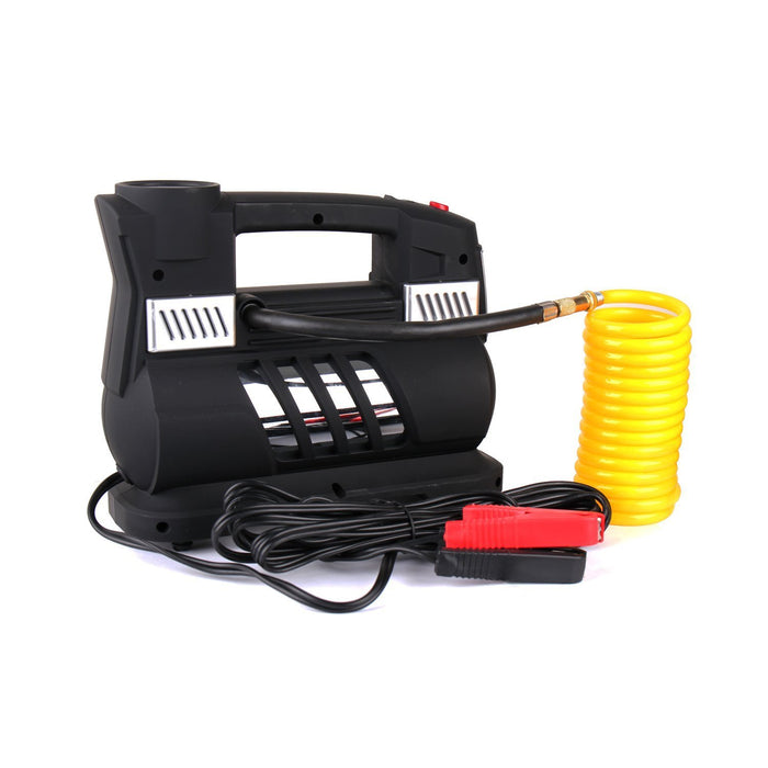 Caesar Safe BSD-6130B1 Portable Air Compressor Kit With Digital Display & Light For Cars Trucks Tires, , Black-Long Mountains