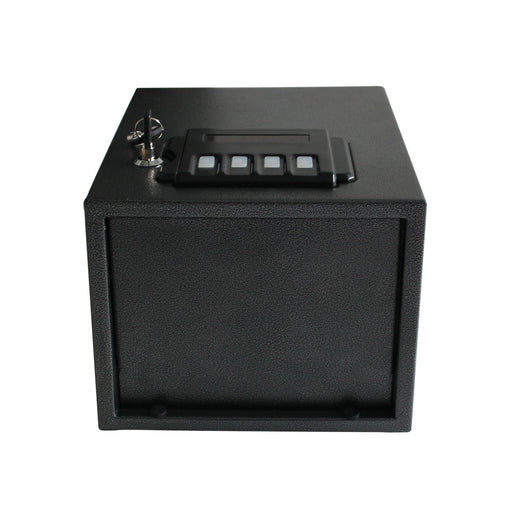 Caesar Safe Hardware Portable Electronic Gun Vault Safe, Small, Black-Long Mountains