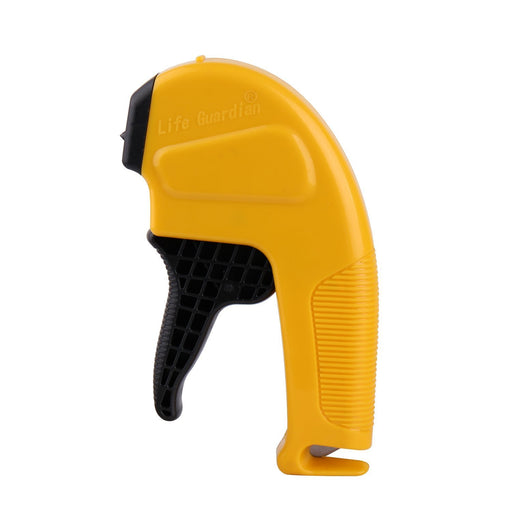 Caesar Safe MB-Y MB Emergency 2-in-1 Escape Tool, Yellow (Auto Car Window Glass Hammer Breaker and Seat Belt Cutter)-Long Mountains