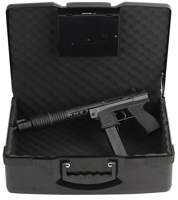 Caesar Safe Portable Electronic Digital Car Multipurpose Laptop Gun Safe CH-928, Black-Long Mountains