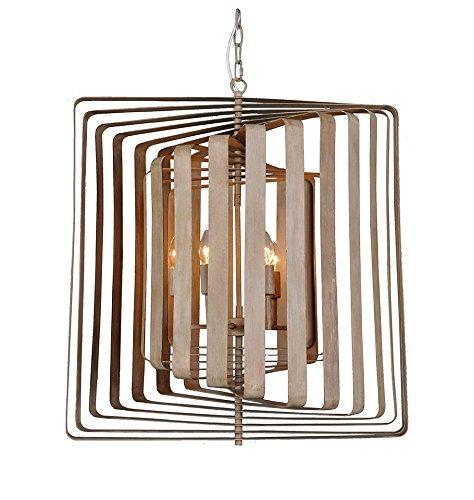 Magari Furniture D6292-6WW Torcia II Candle-Syle Chandelier Modern Style-Long Mountains