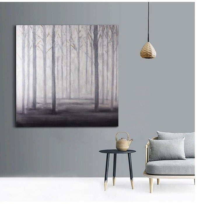 Magari Wall Décor E1504 The Inner Life of Trees Oil Painting-Long Mountains