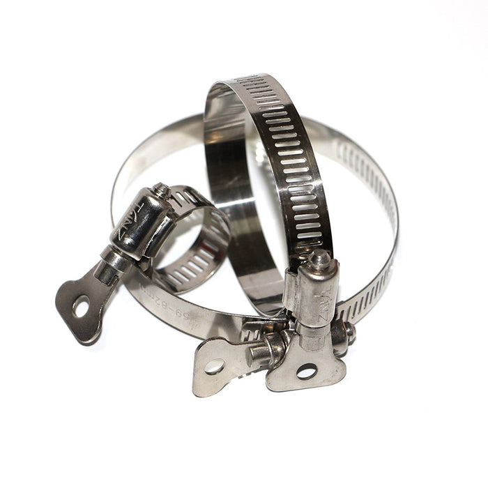 Tanz HAB-60 Caesar Hardware Worm Drive Hose Clamp with Thumb Screw-Long Mountains