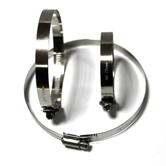 Tanz HT-40 Caesar Hardware High Torque Worm Drive Hose Clamp-Long Mountains