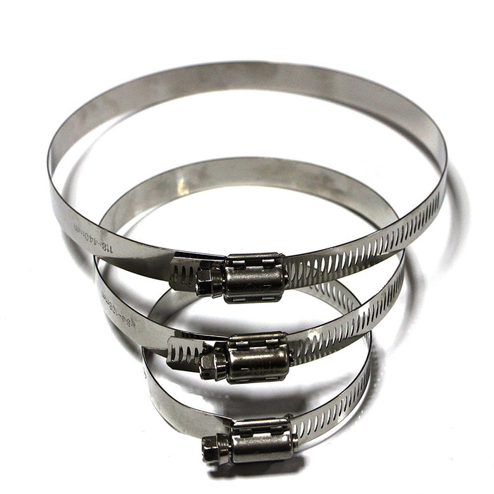 Tanz HT-72 Caesar Hardware High Torque Worm Drive Hose Clamp-Long Mountains