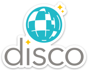 Disco Original Sticker (5pk)