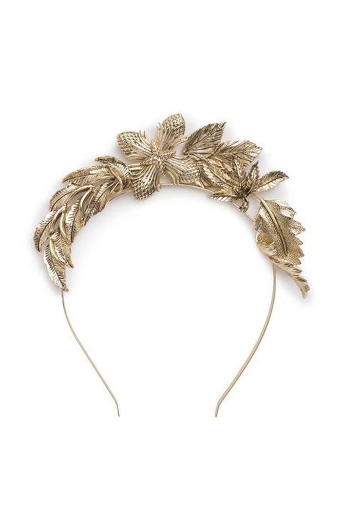 The Carousel Headband Gold