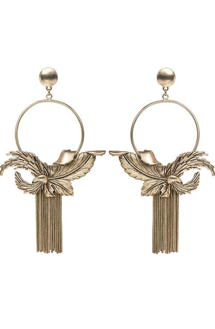 Crazy Love Earrings Gold