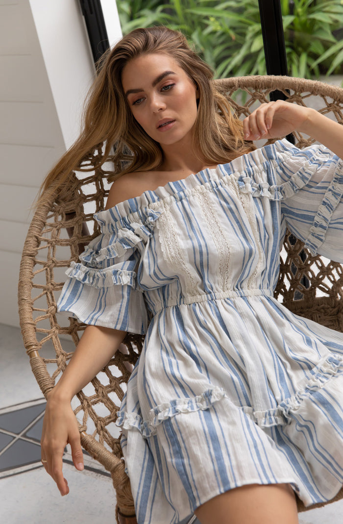 Panama Off Shoulder Dress