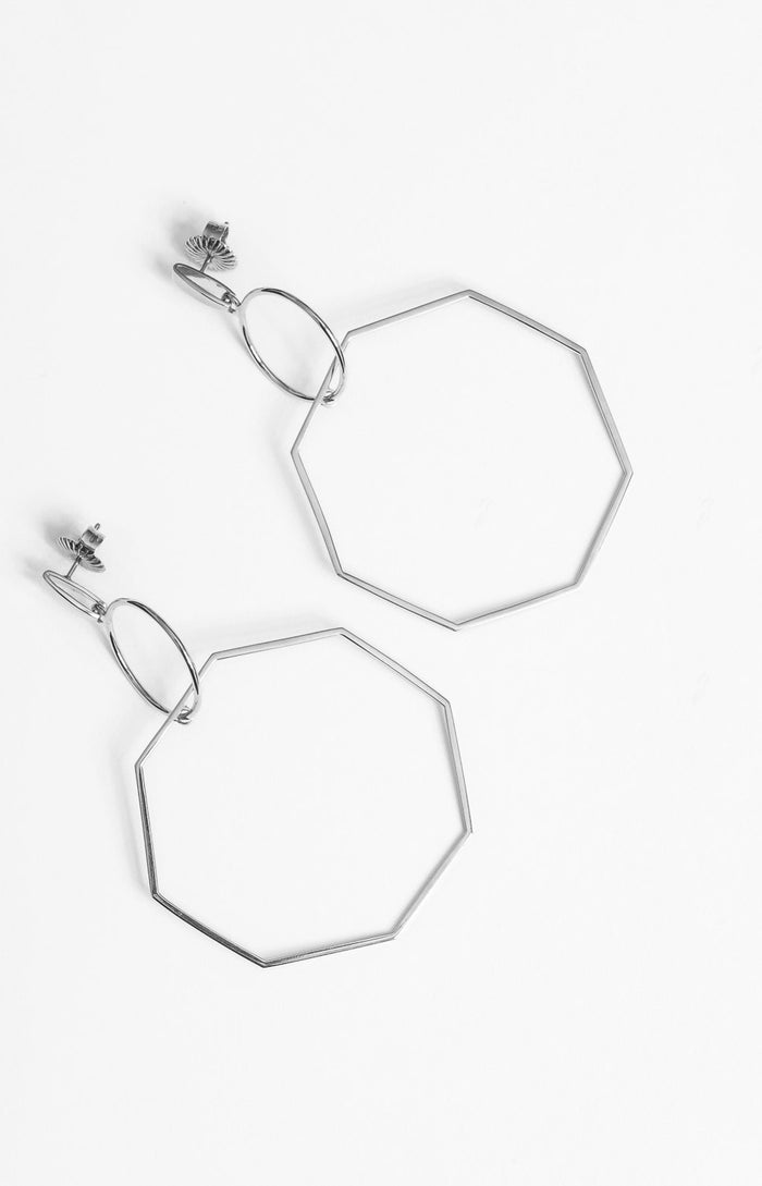 Odette Earrings Silver