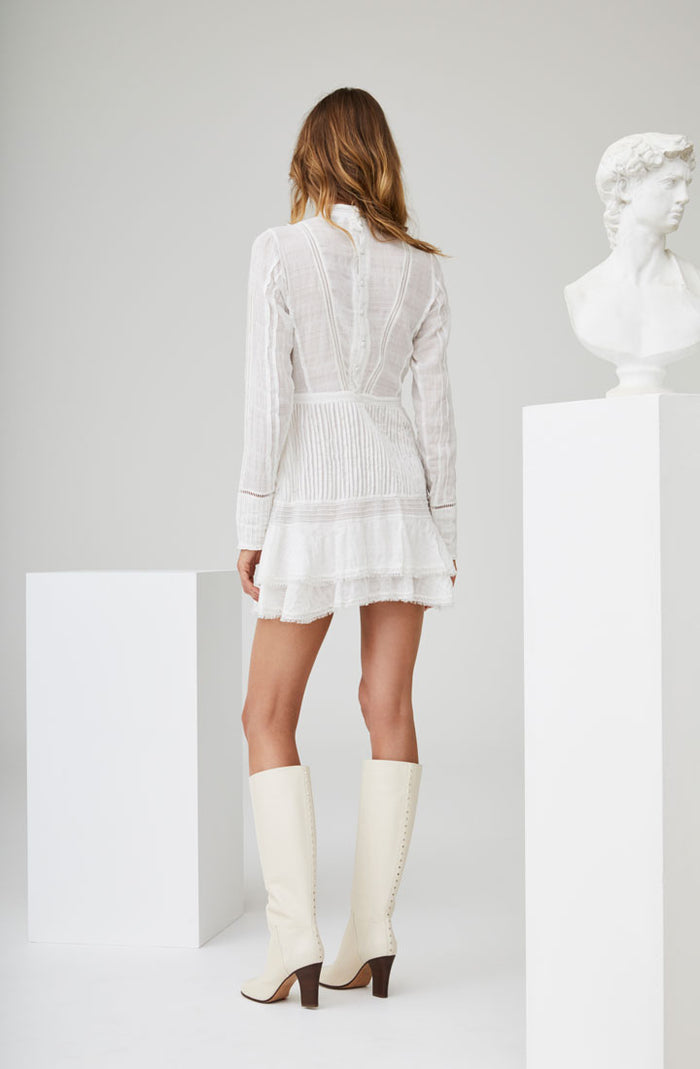Lucille Embroided Shift Dress