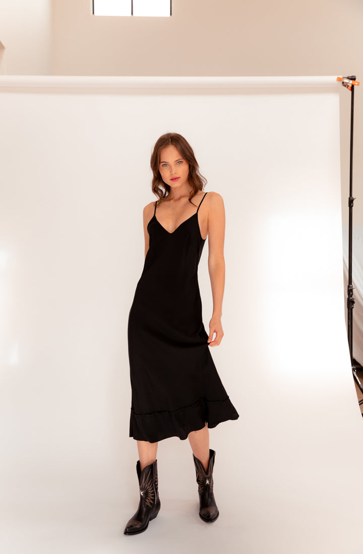 Remmie Silk Slip Dress