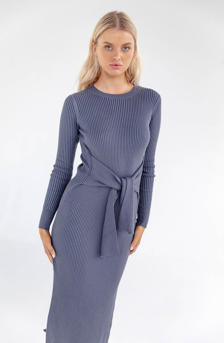 Elliot Rib Tie Dress