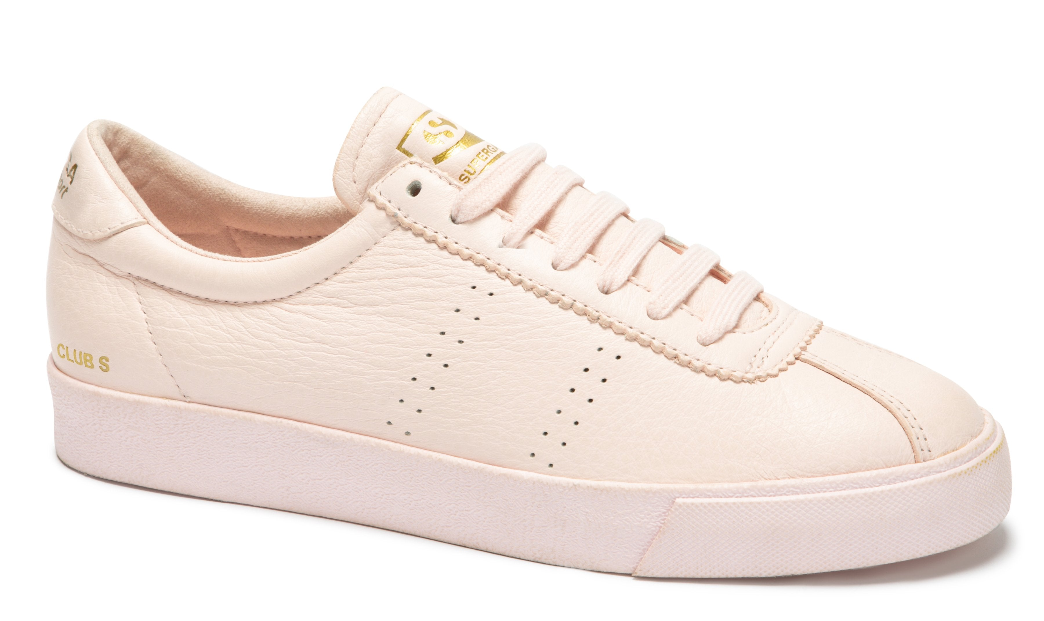 2843-CLUBS TUMBLED LEATHER PINK