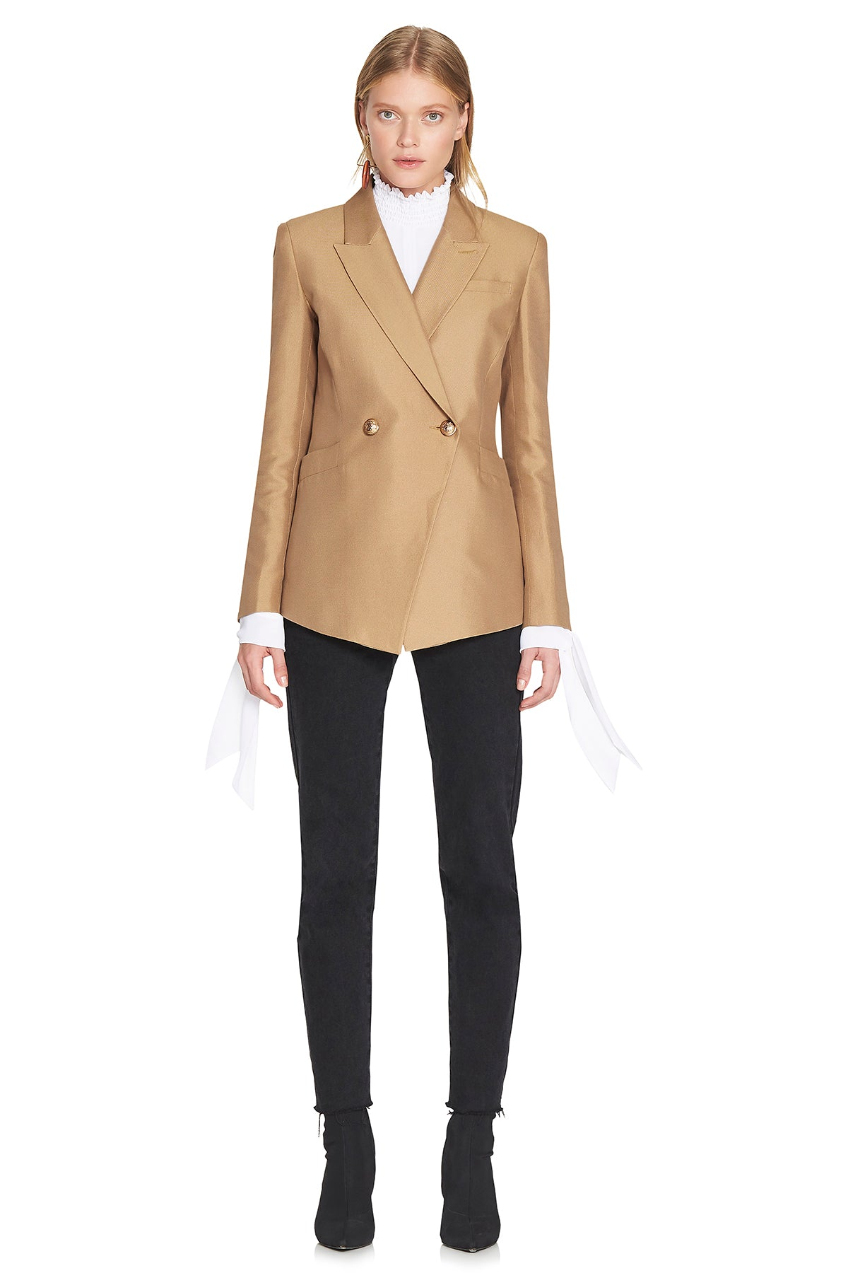 Marguerite Blazer Golden Fox