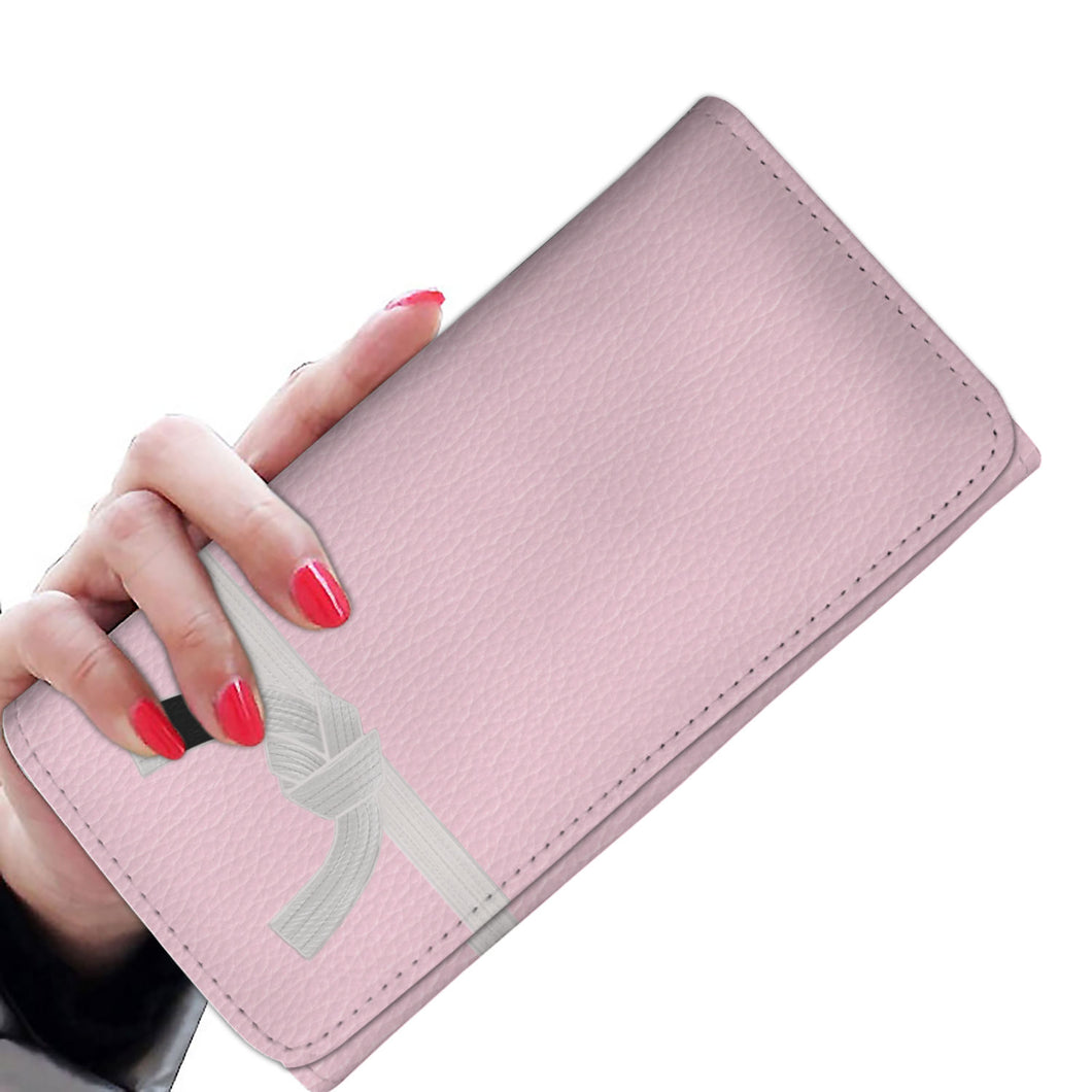 Womens (White Belt) Tri-Fold Wallet