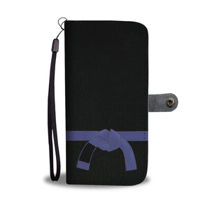 Blue Belt Phone-Wallet Case