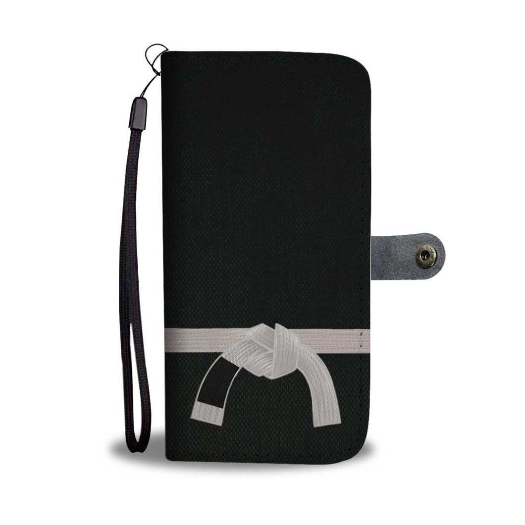 White Belt Phone-Wallet Case