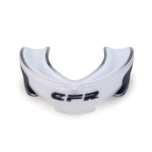 CFR Professional Grade High-Coverage Mouth Guard. Comes in Black or Clear/White.