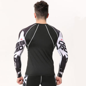 Mens Compression Shirts (Rashguards) in Mulitple Custom Designs. All Sizes.