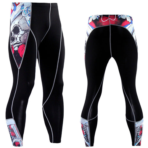 Jiu Jitsu Compression Pants (Spats) - Various Designs - Train in Comfort and Style