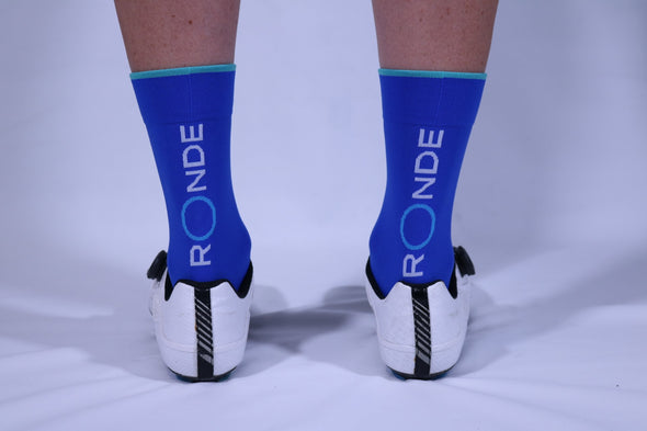 Ronde Renner Race Sock - Light Blue