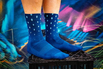 Ronde Renner Race Sock - Diamond II