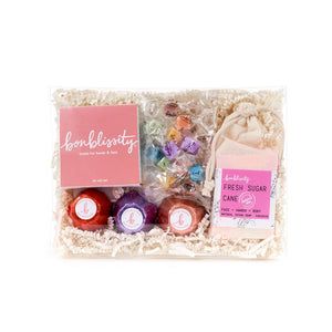 "A ""Little Bit of Everything"" Gift Set w/Fresh Sugar Cane Soap"