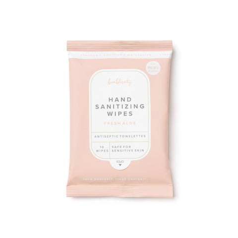 Hand Sanitizing Wipes - Fresh Aloe