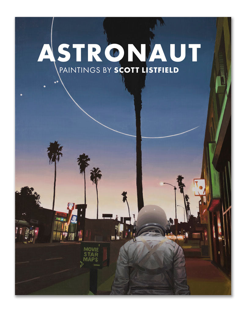 Astronaut - paintings by Scott Listfield
