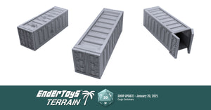 Shop update - Cargo Containers