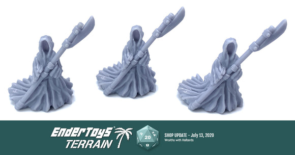Shop update - Wraiths with Halberds