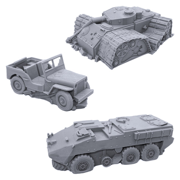 Broken Vehicles Bundle