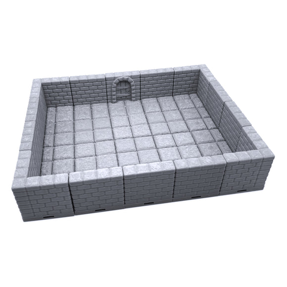 Locking Dungeon Tiles - Masonry and Stone