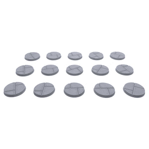 32mm Metal Plate Bases