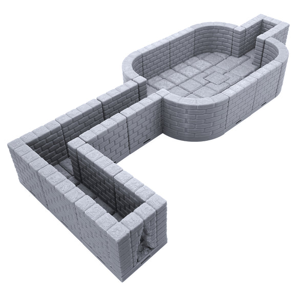 Locking Dungeon Tiles - Secret Room