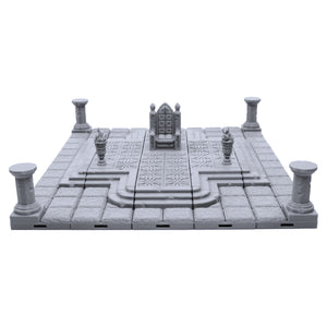 Locking Dungeon Tiles - Throne Room