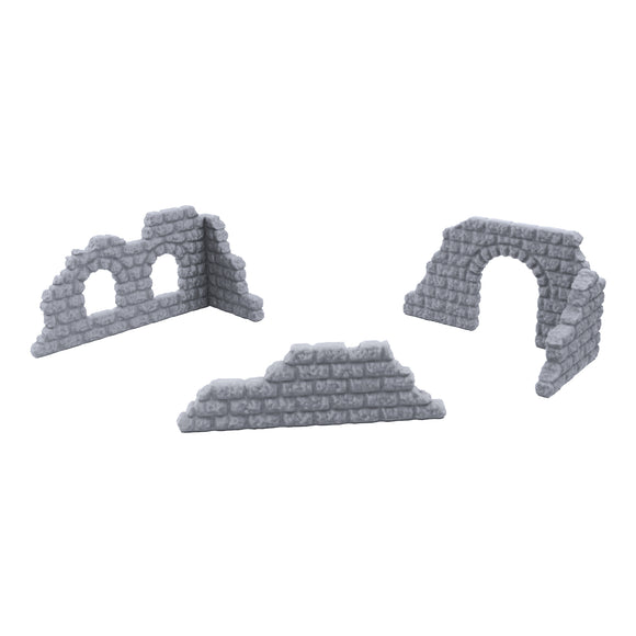 Cobblestone Wall Set