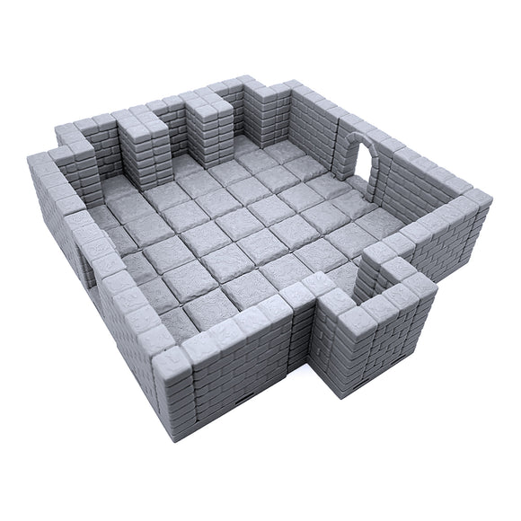 DELUXE Locking Dungeon Tiles -  Ancient Alcoves